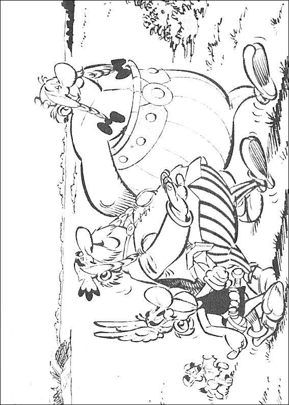 Disney Barn Teckningar Att Färglägga Frost Asterix
